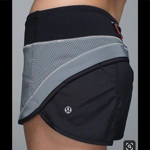 Lululemon Reflective Speed Shorts - 360 degrees